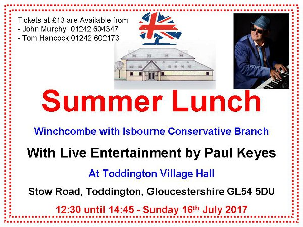 Summer Lunch Poster