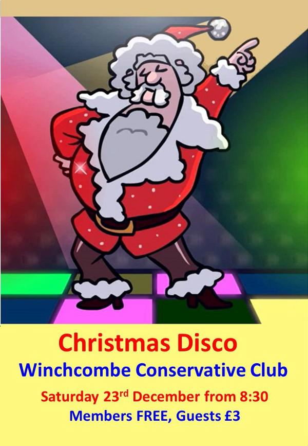 Christmas Disco Poster